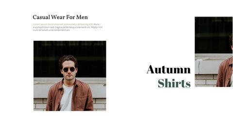남자의 스타일과 패션 프레젠테이션 PowerPoint 템플릿 디자인_03