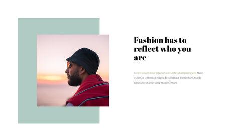 남자의 스타일과 패션 프레젠테이션 PowerPoint 템플릿 디자인_07
