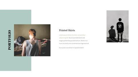 남자의 스타일과 패션 프레젠테이션 PowerPoint 템플릿 디자인_09