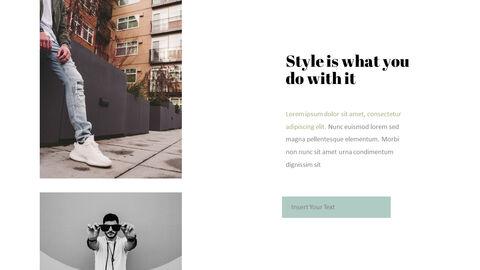 남자의 스타일과 패션 프레젠테이션 PowerPoint 템플릿 디자인_11