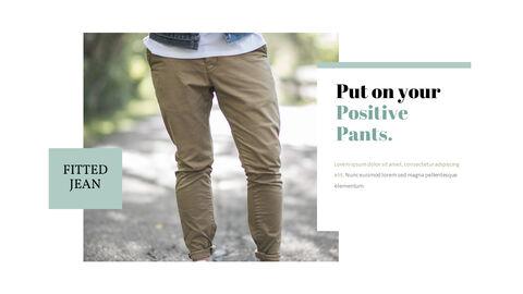 남자의 스타일과 패션 프레젠테이션 PowerPoint 템플릿 디자인_14