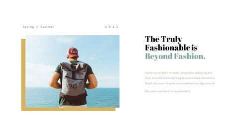 남자의 스타일과 패션 프레젠테이션 PowerPoint 템플릿 디자인_21
