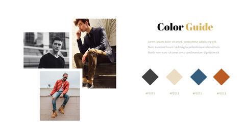 Men\'s Style & Fashion Presentation PowerPoint Templates Design_03