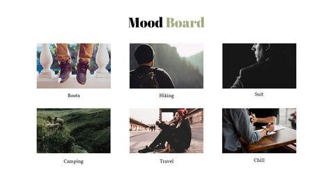 남자의 스타일과 패션 프레젠테이션 PowerPoint 템플릿 디자인_28