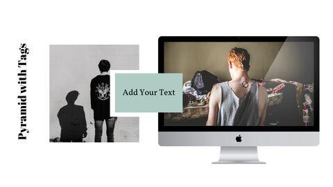 남자의 스타일과 패션 프레젠테이션 PowerPoint 템플릿 디자인_30