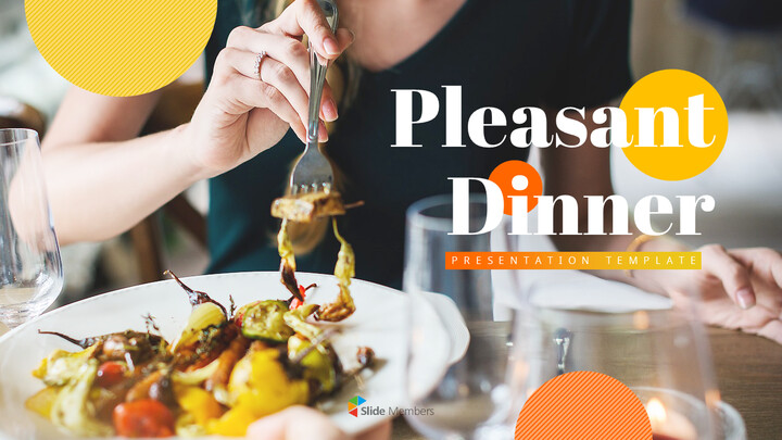 Pleasant Dinner Easy PPT Template_01