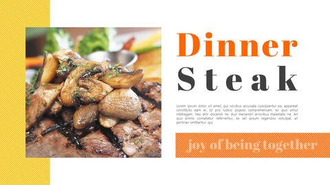 Pleasant Dinner Easy PPT Template_04