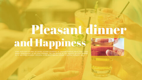 Pleasant Dinner Easy PPT Template_05