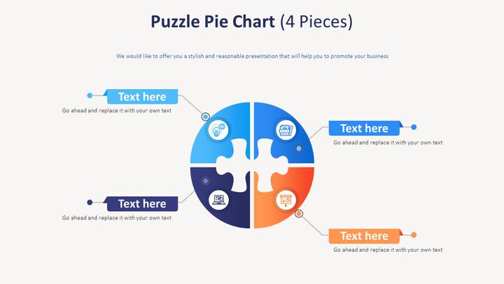 퍼즐 파이 다이어그램 (4 개)_01