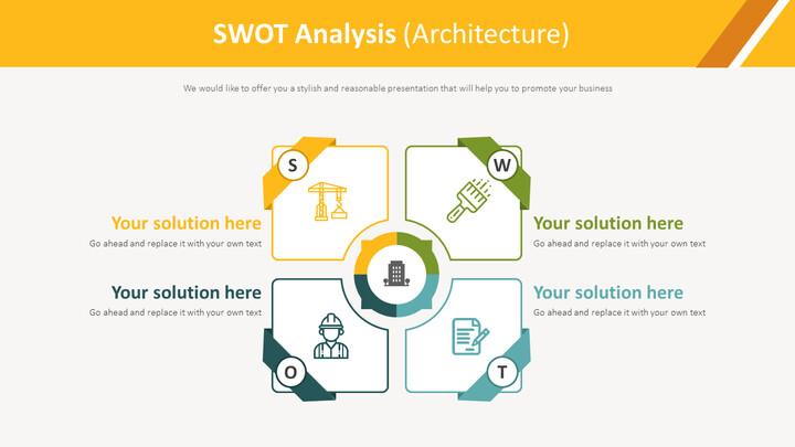 SWOT 분석 다이어그램 (건축)_01