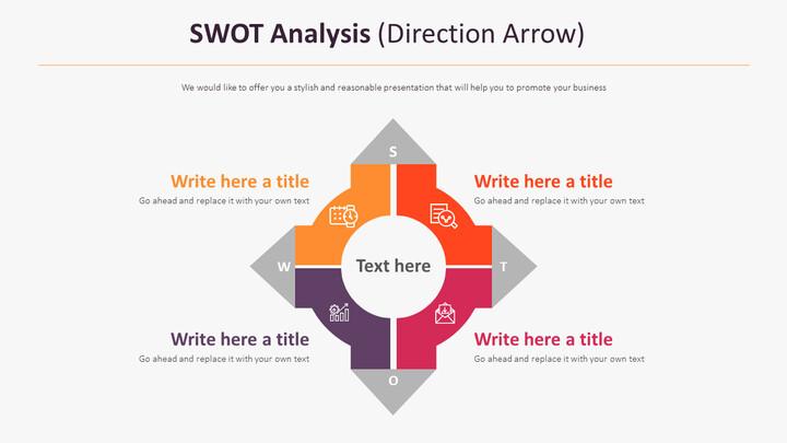 SWOT 분석 다이어그램 (방향 화살표)_01