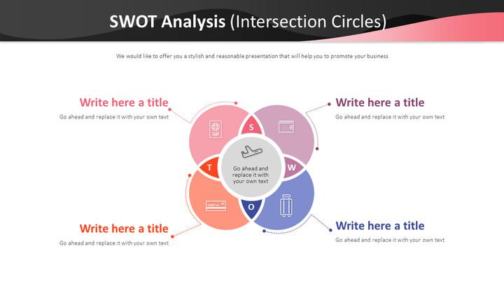 SWOT 분석 다이어그램 (교차점 원)_01