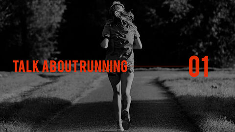 달리기, 육상, 마라톤 PowerPoint 템플릿 디자인_03