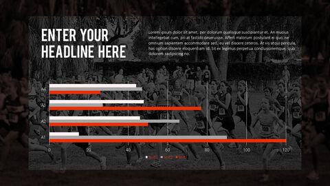 달리기, 육상, 마라톤 PowerPoint 템플릿 디자인_17
