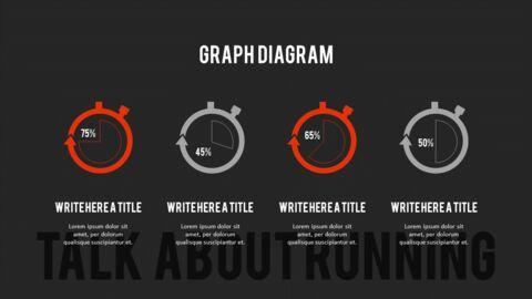 달리기, 육상, 마라톤 PowerPoint 템플릿 디자인_20