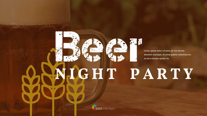 Beer Night Party Powerpoint Presentation_01