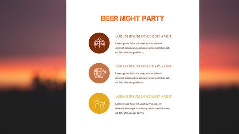 맥주 나이트 파티 파워포인트 프레젠테이션_34