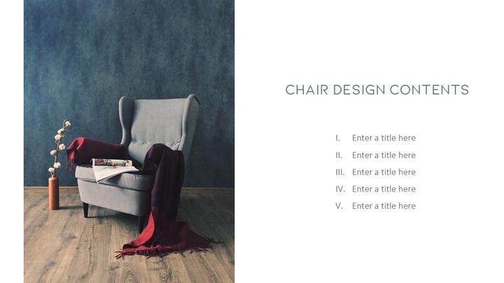 의자 디자인 테마 프레젠테이션 템플릿_02