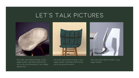 의자 디자인 테마 프레젠테이션 템플릿_04