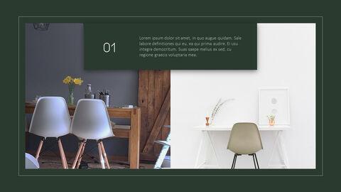 의자 디자인 테마 프레젠테이션 템플릿_08