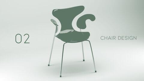 의자 디자인 테마 프레젠테이션 템플릿_09