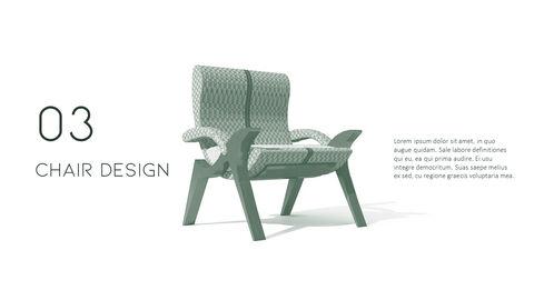 의자 디자인 테마 프레젠테이션 템플릿_21