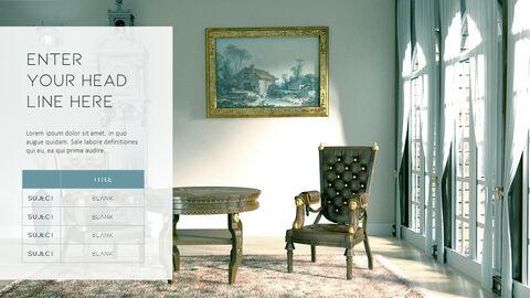 의자 디자인 테마 프레젠테이션 템플릿_22