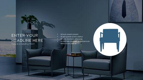 의자 디자인 테마 프레젠테이션 템플릿_34