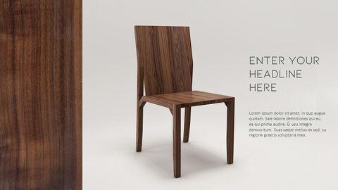 의자 디자인 테마 프레젠테이션 템플릿_35