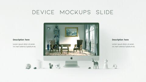 의자 디자인 테마 프레젠테이션 템플릿_39
