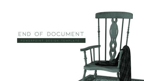 의자 디자인 테마 프레젠테이션 템플릿_40