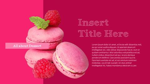 <span class=\'highlight\'>Colorful</span> Dessert PowerPoint Templates Design_04