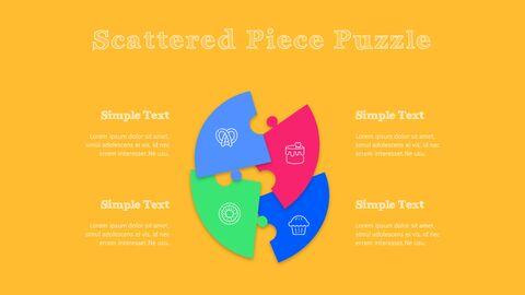 화려한 디저트 PowerPoint 템플릿 디자인_33