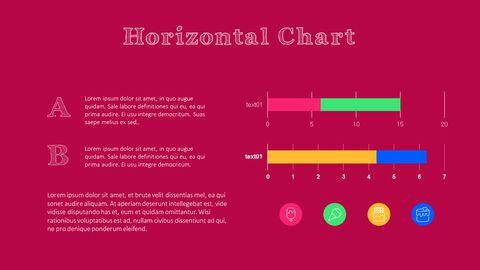 화려한 디저트 PowerPoint 템플릿 디자인_35