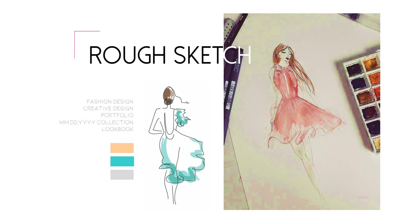 Portfolio Fashion Presentation