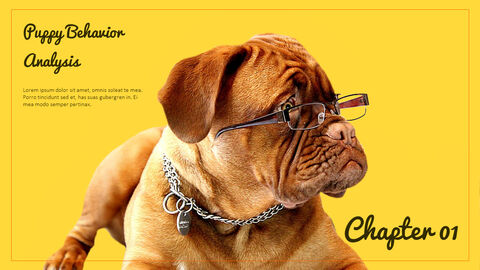 Puppy Behavior Analysis Templates Design_02