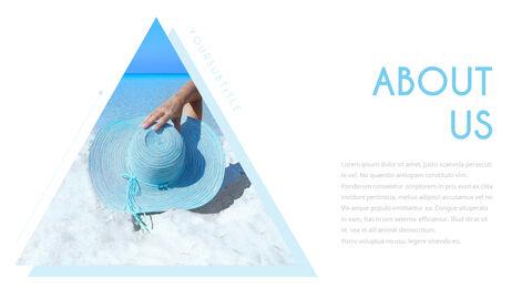 여름 해변 프레젠테이션 PowerPoint 템플릿 디자인_03
