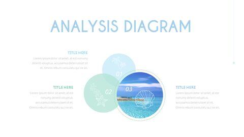 여름 해변 프레젠테이션 PowerPoint 템플릿 디자인_35