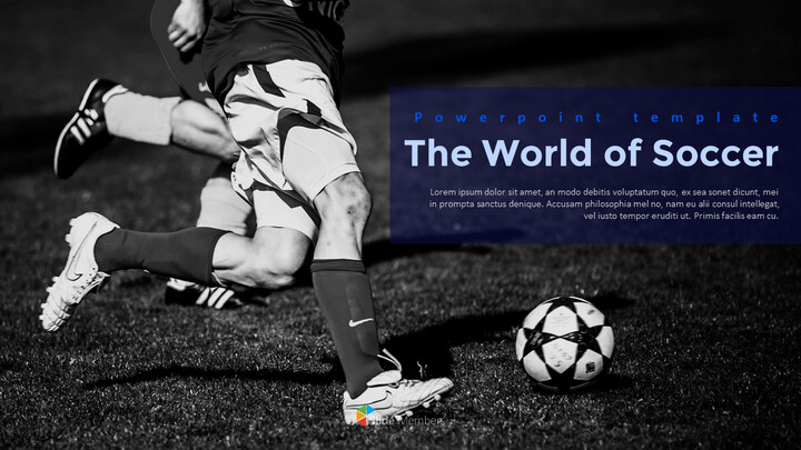 The World of Soccer PowerPoint Templates_01