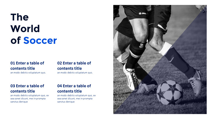The World of Soccer PowerPoint Templates_02