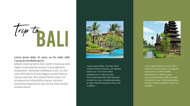 Trip to Bali Presentation PowerPoint Templates Design_02