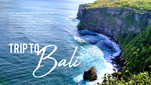 Trip to Bali Presentation PowerPoint Templates Design_04