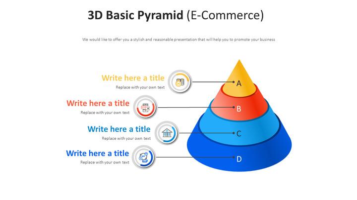 3D 기본 피라미드 다이어그램 (전자 상거래)_01