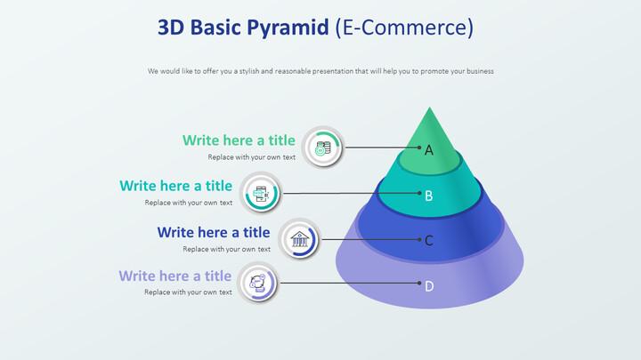 3D Basic Pyramid Diagram (E-Commerce)_02
