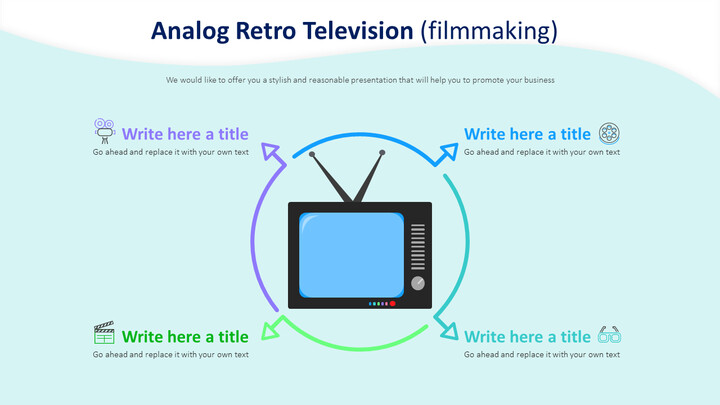 Analog <span class=\'highlight\'>Retro</span> Television Diagram (filmmaking)_01