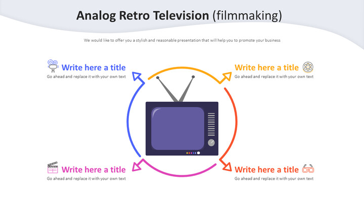 Analog <span class=\'highlight\'>Retro</span> Television Diagram (filmmaking)_02