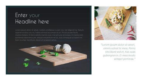 주방 용품 PowerPoint 템플릿 디자인_23