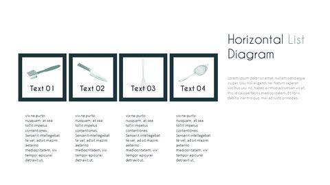 주방 용품 PowerPoint 템플릿 디자인_27