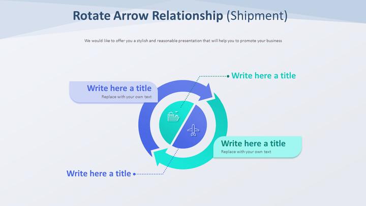 Rotate Arrow Relationship Diagram (Shipment)_02