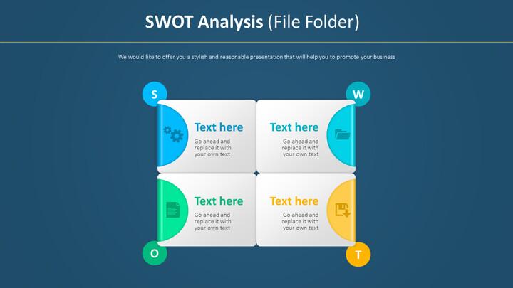 SWOT 분석 다이어그램 (파일 폴더)_02